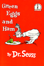 Green Eggs and Ham by Dr. Seuss book cover