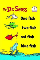 One Fish Two Fish Red Fish Blue Fish by Dr. Seuss book cover