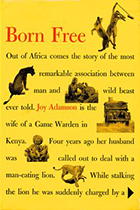 Born Free: A Lioness of Two Worlds by Joy Adamson book cover