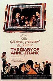 The Diary of Anne Frank movie poster