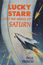 Lucky Starr and the Rings of Saturn book cover