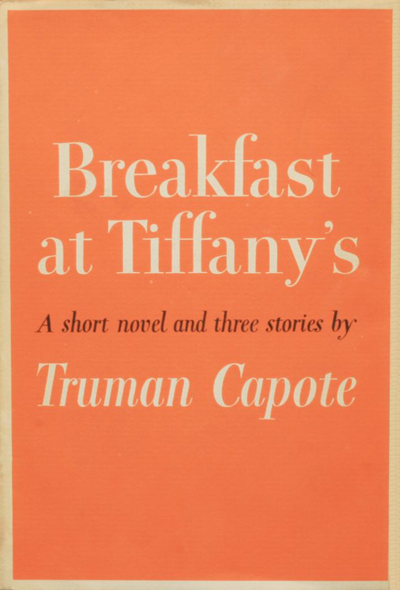 Breakfast at Tiffany's book cover