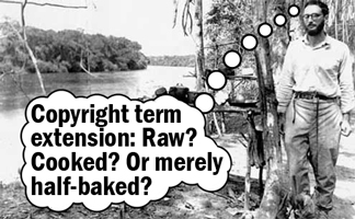 Claude Levi-Strauss -- Copyright term extension: Raw? Cooked? Or merely half-baked?
