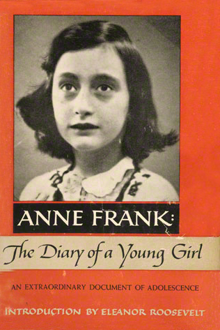 Anne Frank, The Diary of a Young Girl (first U.S. edition, 1952)