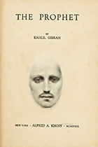 Kahlil Gibran, The Prophet book cover