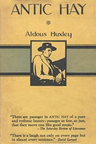 Aldous Huxley, Antic Hay book cover