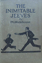 P.G. Wodehouse, works including The Inimitable Jeeves book cover