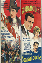 'Scaramouche,' directed by Rex Ingram movie poster