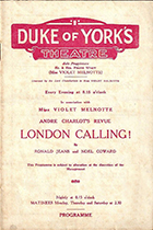 London Calling! (musical), by Noel Coward