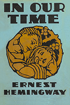 'In Our Time' by Ernest Hemingway book cover
