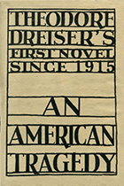 'An American Tragedy' by Theodore Dreiser book cover