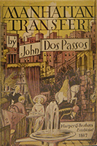 'Manhattan Transfer' by John Dos Passo book cover