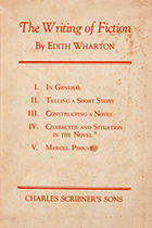 'The Writing of Fiction' by Edith Wharton book cover