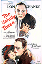 'The Unholy Three' movie poster