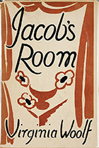 Virginia Woolf, Jacob's Room book cover