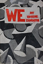 'We' by Yevgeny Zamatin book cover