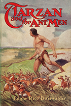 'Tarzan and the Ant Men' by Edgar Rice Burroughs book cover