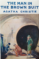'The Man in the Brown Suit' by Agatha Christie book cover