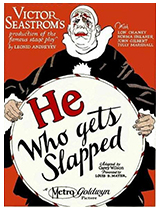 'He Who Gets Slapped' movie poster