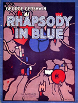 'Rhapsody in Blue' sheet music cover