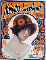 'Nobody's Sweetheart' sheet music cover
