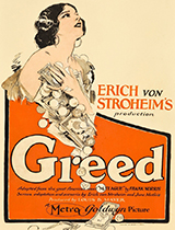 'Greed' movie poster