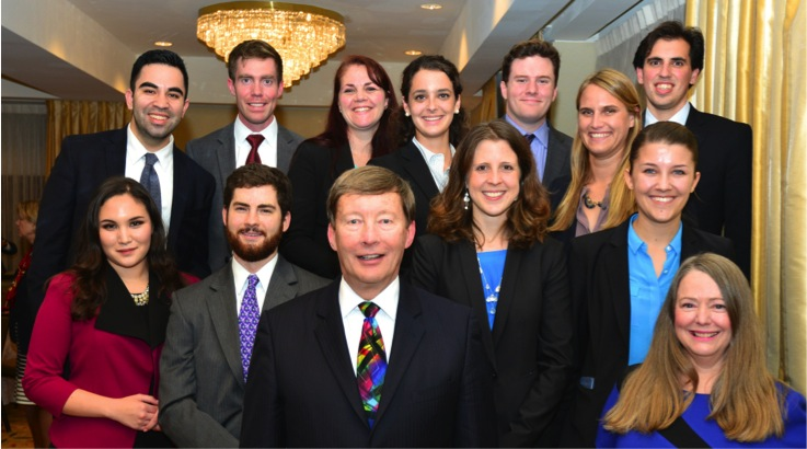 Photo of attendees at the 25th Annual Review of the Field of National Security Law CLE Conference