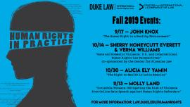 Human Rights in Practice Speaker Series Fall 2019