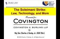 Prof Dunlap spoke in Washington, D.C. on March 9th to Covington & Burling.