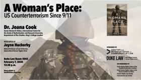 Human rights in Practice -- Book Talk -- A Woman's Place: US Counterterrorism Since 9/11; with Dr. Joana Cook