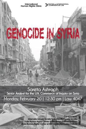 Sareta Ashraph lecture 2/20