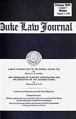Duke law journal